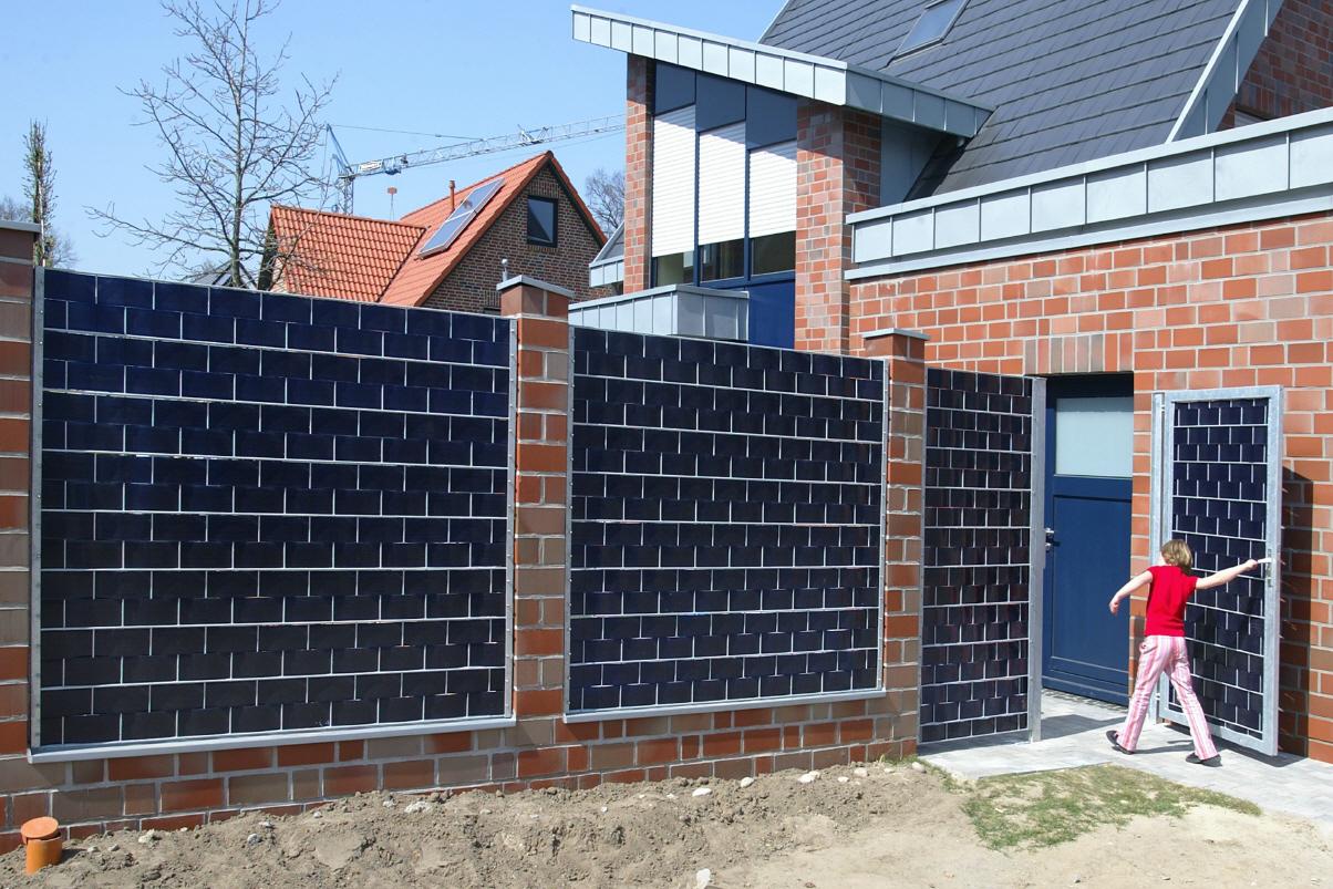 Gartenzaun Metall Sichtschutz ZE75 – Hitoiro
