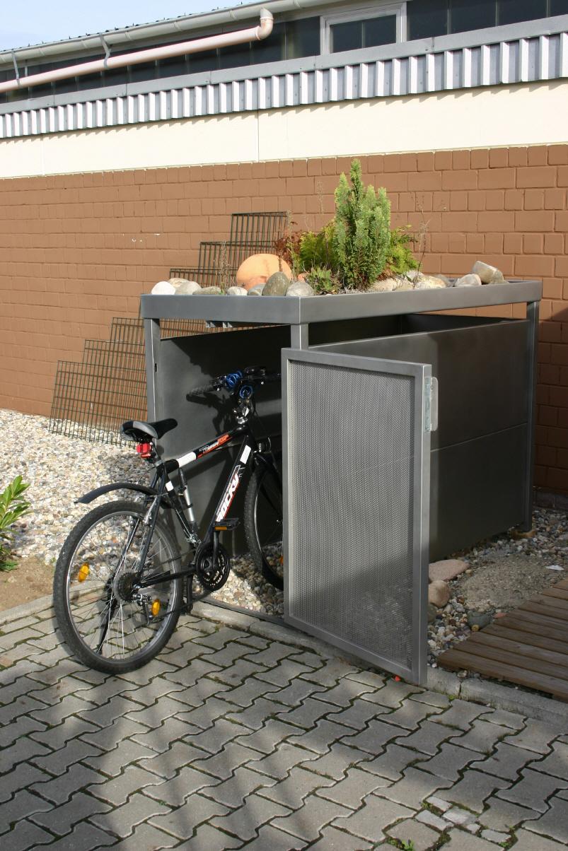 fahrradboxen. Black Bedroom Furniture Sets. Home Design Ideas